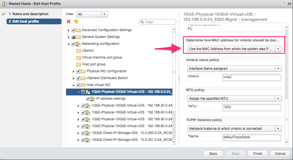 How to Auto Deploy stateless nested ESXi hosts with NICs on trunked